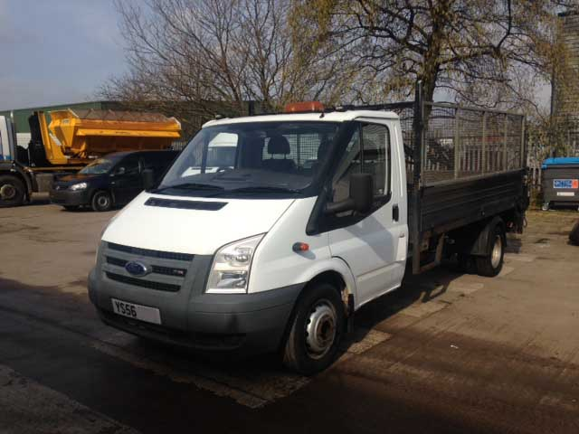2007 56 Plate Ford Transit 350 Lwb T350 Cage Tipper